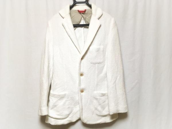 McRitchie(マックリッチ) ジャケット サイズ46 XL メンズ 白 パイル地