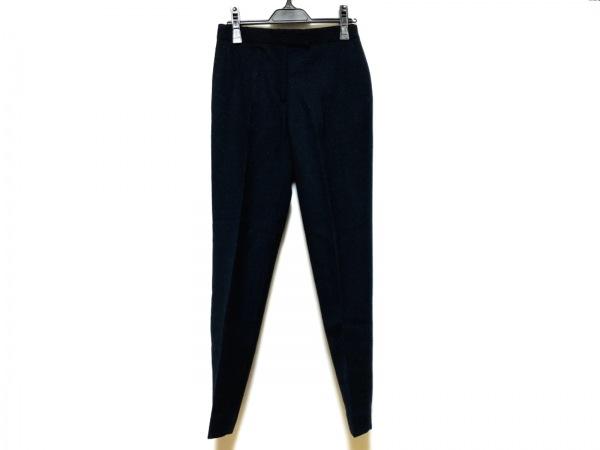 トゥモローランド パンツ サイズ34 S レディース新品同様  黒×ネイビー COLLECTION