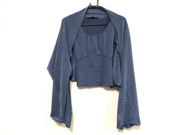 MATERIA(マテリア) 七分袖カットソー サイズ38 M レディース美品  ブルー