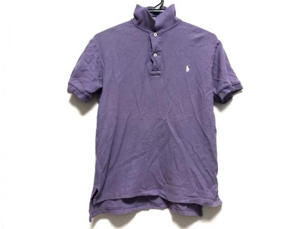 POLObyRalphLauren(ポロラルフローレン) 半袖ポロシャツ サイズM メンズ パープル
