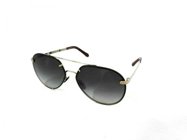 バーバリー サングラス美品  B3099 黒×ゴールド×ボルドー プラスチック×金属素材