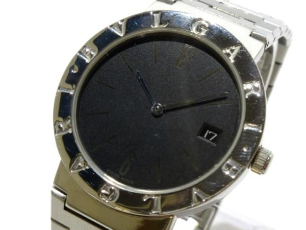BVLGARI(ブルガリ) 腕時計 ブルガリブルガリ BB33SSD メンズ 黒