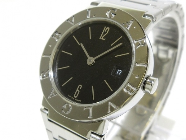 BVLGARI(ブルガリ) 腕時計 ブルガリブルガリ BB26SSD レディース 黒