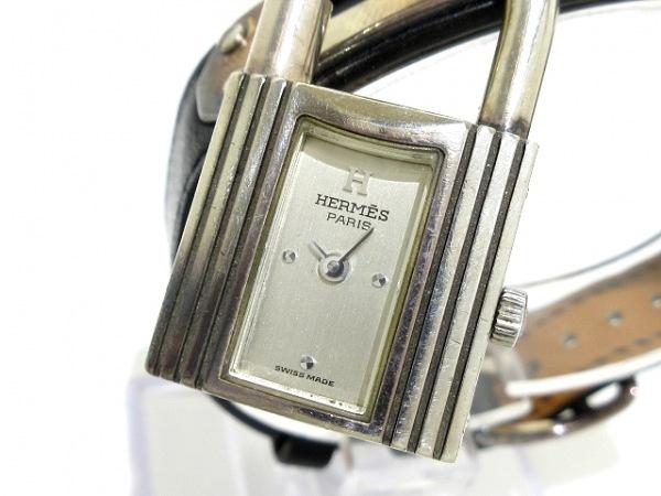 HERMES(エルメス) 腕時計 ケリーウォッチ - レディース シルバー