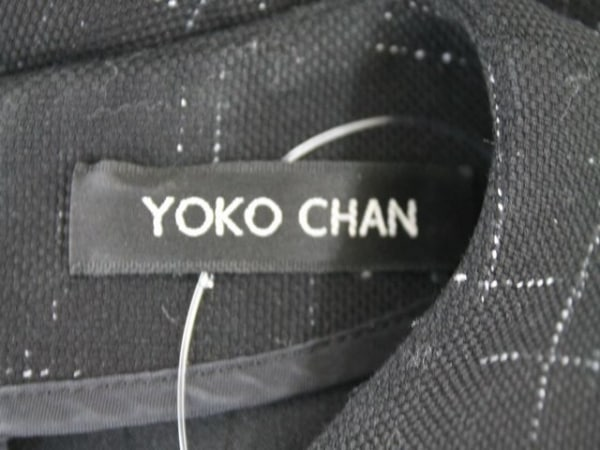 YOKO CHAN(ヨーコ チャン) ワンピース サイズ40 M レディース 黒×白
