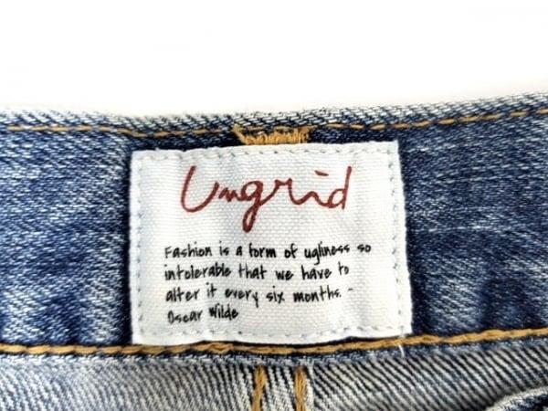 UNGRID(アングリッド) ジーンズ サイズ25 XS レディース ブルー