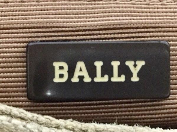 BALLY(バリー) ショルダーバッグ ライトブルー×ライトブラウン ハラコ×化学繊維