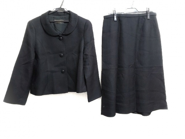 Leilian(レリアン) スカートスーツ サイズ13 L レディース美品  黒 3点セット