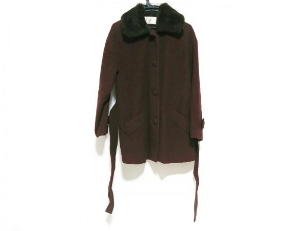 Aylesbury(アリスバーリー) コート サイズ9 M レディース美品  ダークブラウン 冬物