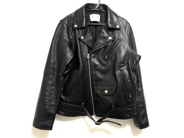 ビューティフルピープル ライダースジャケット サイズ150 レディース 黒 春・秋物