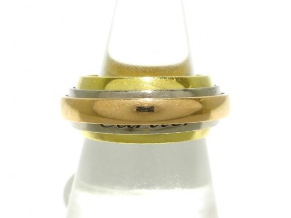 Cartier(カルティエ) 3連リング 58 トリニティマストエッセンス K18スリーカラー