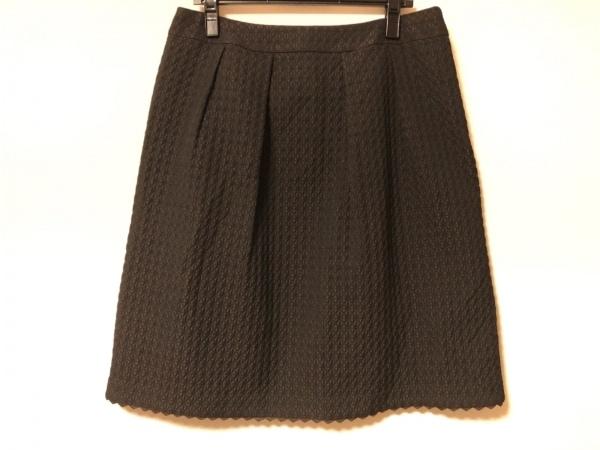 Leilian(レリアン) スカート サイズ15 L レディース 黒 キルティング