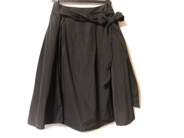 23区(ニジュウサンク) スカート サイズ46 XL レディース 黒 Applaudir