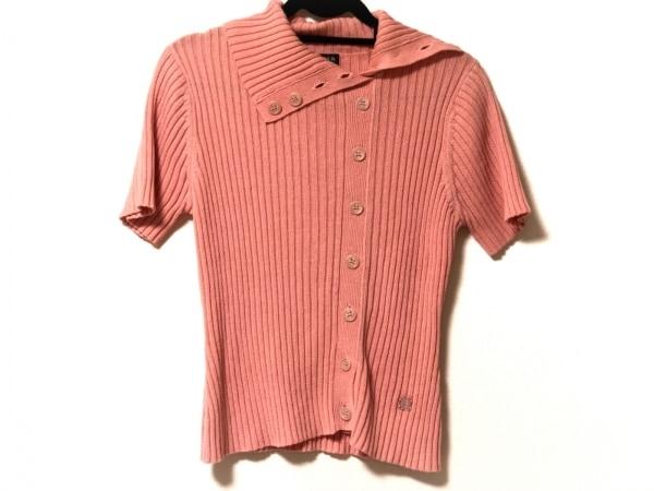 ソニアリキエル 半袖セーター サイズ40 M レディース美品  ピンク タートルネック