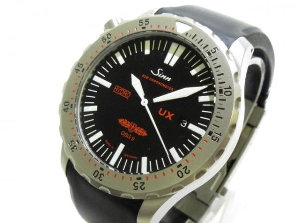 Sinn(ジン) 腕時計美品  UX EZM 2B 403 メンズ ラバーベルト 黒