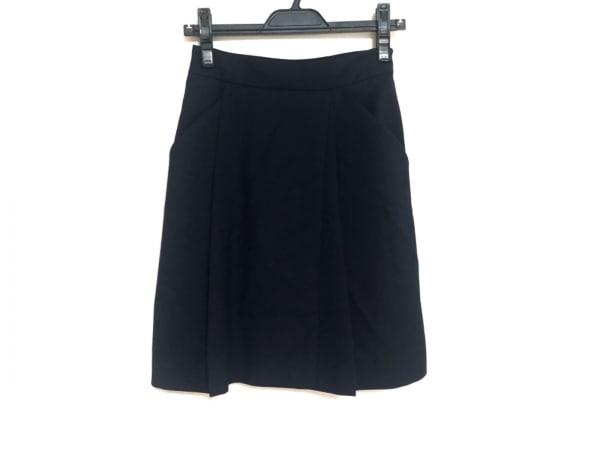 PAULEKA(ポールカ) スカート サイズ36 S レディース新品同様  ダークネイビー