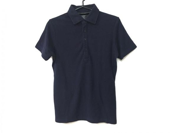 WJK(ダブルジェイケイ) 半袖ポロシャツ サイズS レディース ダークネイビー