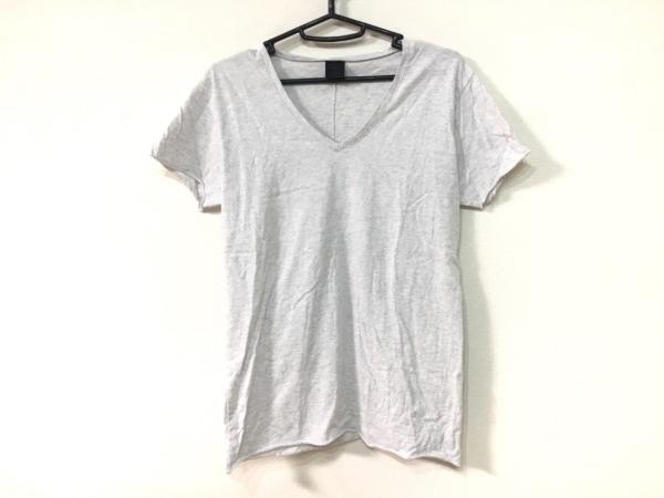 WJK(ダブルジェイケイ) 半袖Tシャツ サイズS レディース ライトグレー