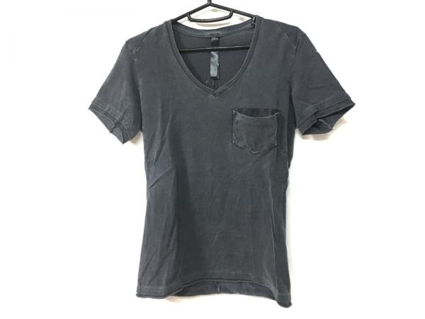 WJK(ダブルジェイケイ) 半袖Tシャツ サイズS メンズ ダークグレー