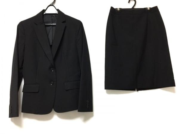 COMME CA ISM(コムサイズム) スカートスーツ サイズM レディース 黒 3点セット