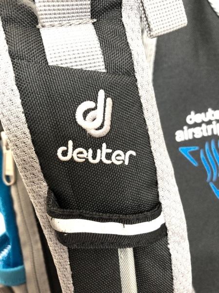 deuter(ドイター) リュックサック ブルー×グレー ナイロン