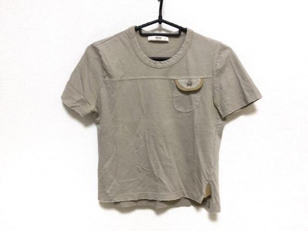 PRADA(プラダ) 半袖Tシャツ サイズS レディース ベージュ