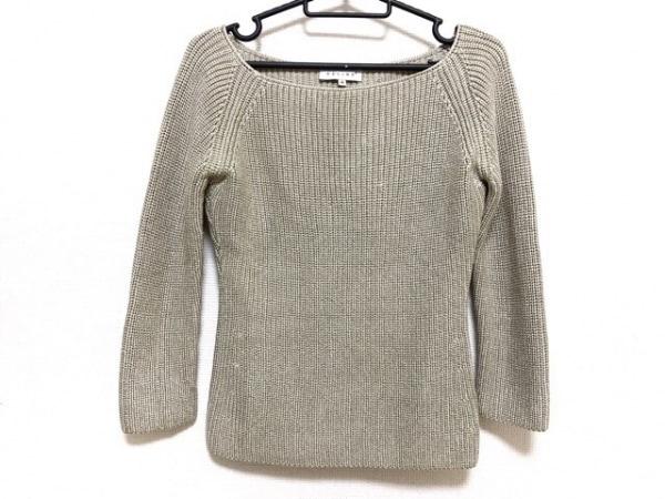 CELINE(セリーヌ) 長袖セーター サイズM レディース新品同様  ライトグリーン
