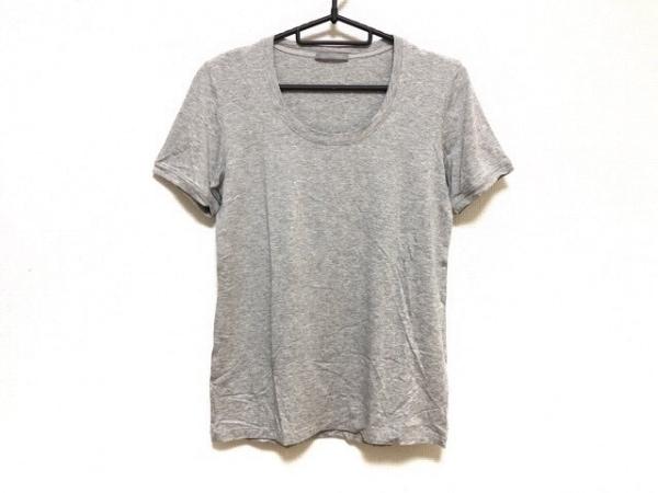 theory luxe(セオリーリュクス) 半袖Tシャツ サイズ38 M レディース美品  グレー