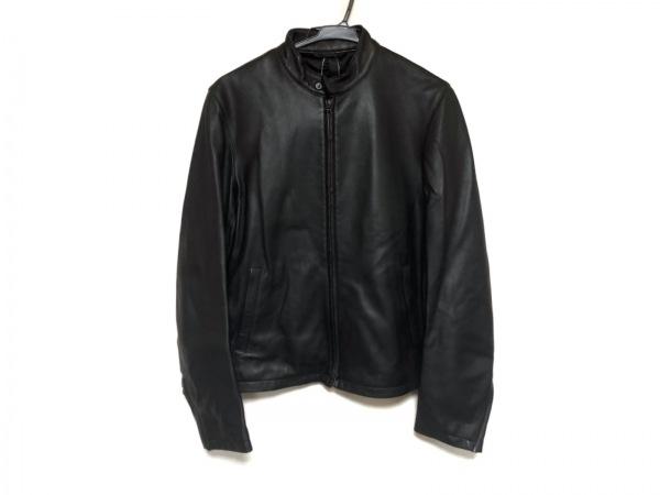 EDIFICE(エディフィス) ライダースジャケット サイズ44 L レディース美品  黒 冬物