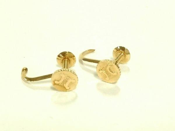 CELINE(セリーヌ) ピアス美品  金属素材 ゴールド