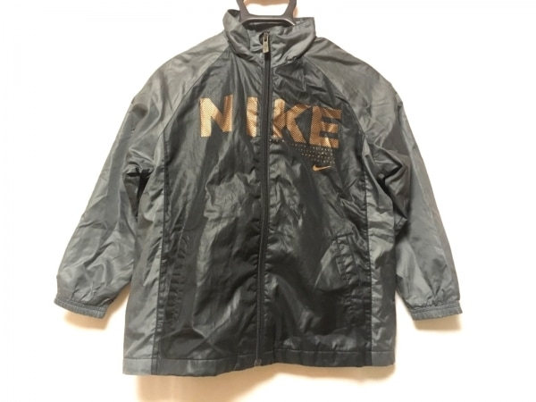 NIKE(ナイキ) ブルゾン サイズXS レディース 黒×ダークグレー 春・秋物