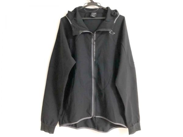 OAKLEY(オークリー) ブルゾン サイズ2XL メンズ美品  黒×グレー ジップアップ