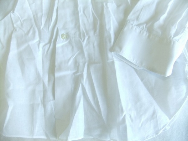 DESIGNWORKS(デザインワークス) 長袖シャツ サイズ40 M メンズ 白