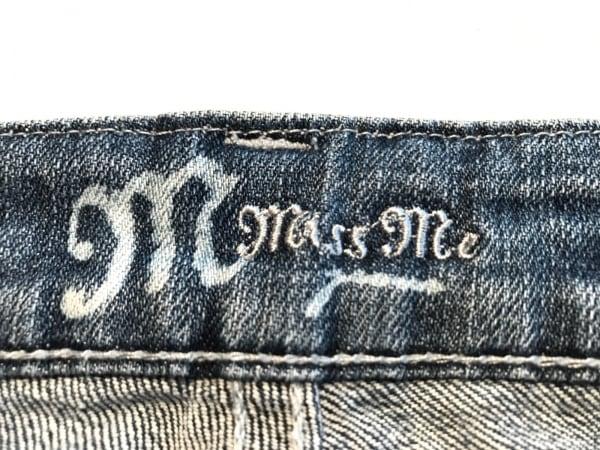 MissMe(ミスミー) ジーンズ サイズ28 L レディース ブルー スタッズ/ラインストーン