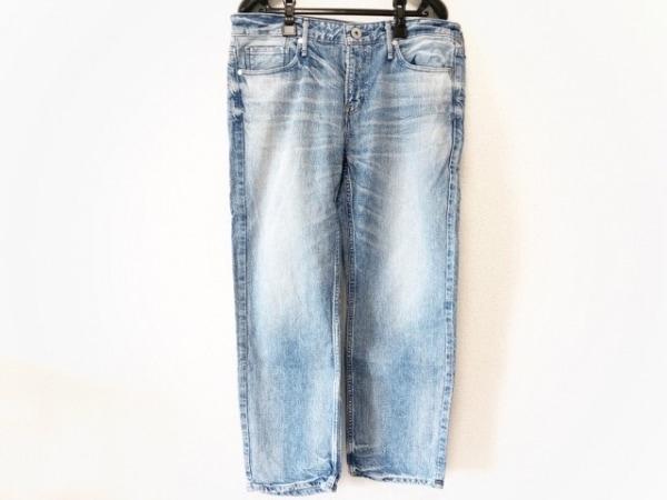 upper hights(アッパーハイツ) パンツ サイズ26 S レディース ブルー ダメージ加工