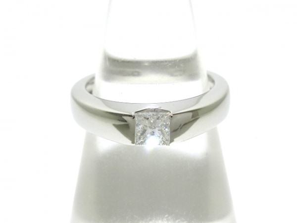 4℃(ヨンドシー) リング新品同様  Pt950×ダイヤモンド 0.288カラット