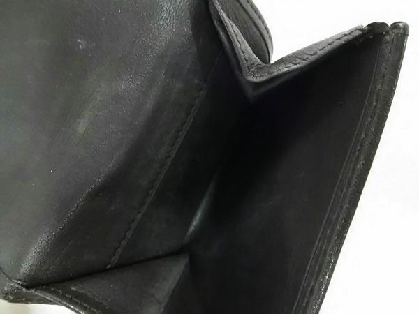 LOEWE(ロエベ) Wホック財布 - ダークブラウン スエード×レザー 4
