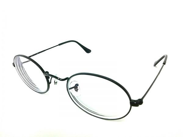 Ray-Ban(レイバン) メガネ RB3547V クリア×黒 度入り プラスチック×金属素材