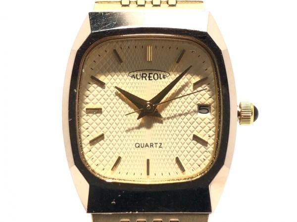 AUREOLE(オレオール) 腕時計 04SW-257 レディース ゴールド