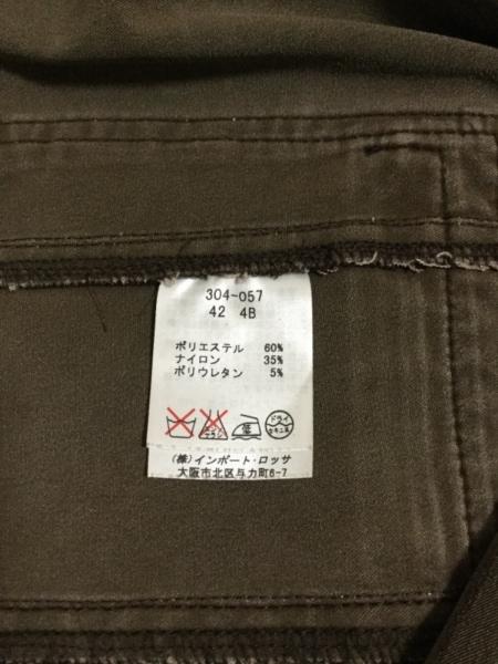 ROSSA(ロッサ) レディースパンツスーツ サイズ42 L レディース ダークブラウン