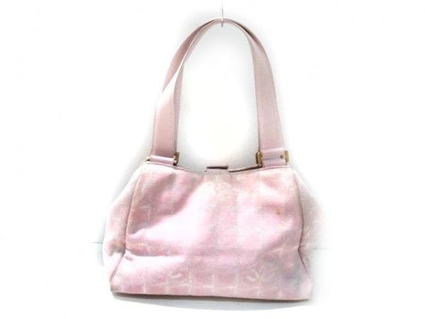 CHANEL(シャネル) ハンドバッグ ニュートラベルライン ピンク ミニサイズ