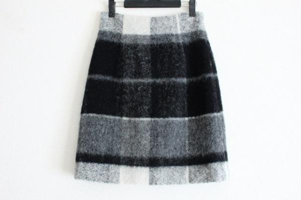 theory(セオリー) スカート サイズ2 S レディース美品  黒×グレー×アイボリー
