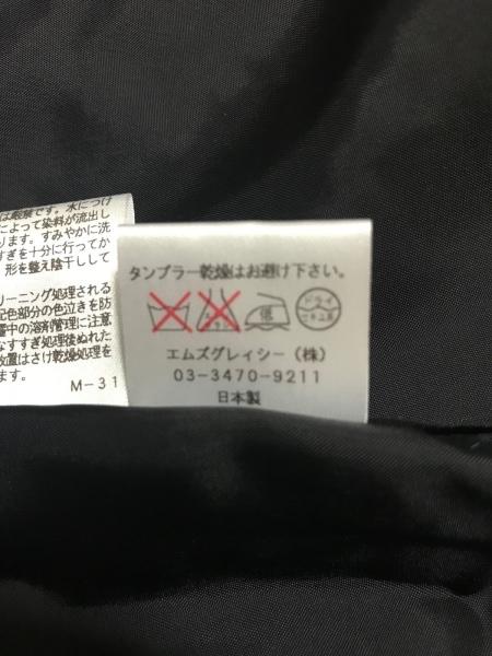 エムズグレイシー コート サイズ40 M レディース美品  黒×アイボリー 千鳥格子/冬物