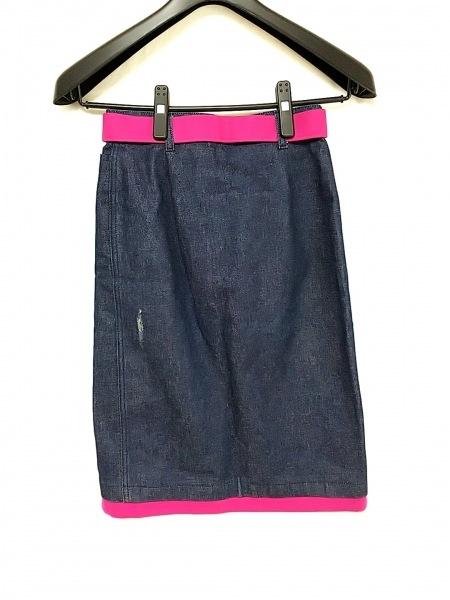 FENDI jeans(フェンディ) スカート サイズUSA6 M レディース ネイビー デニム