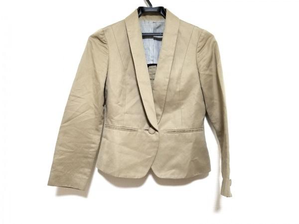 MACPHEE(マカフィ) ジャケット サイズ36 S レディース ベージュ