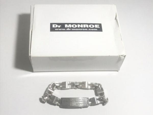 Dr.MONROE(ドクターモンロー) ブレスレット シルバー