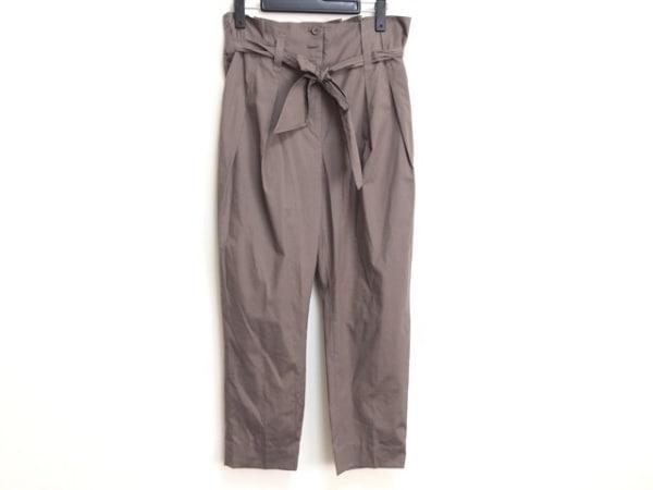 HIROKO BIS(ヒロコビス) パンツ サイズ11 M レディース ダークグレー