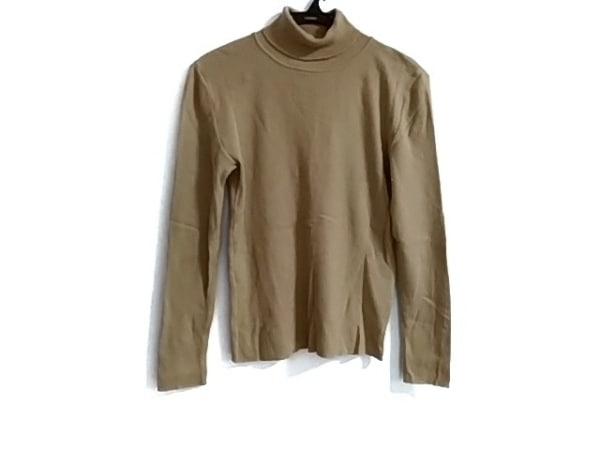 インゲボルグ 長袖セーター サイズM レディース美品  ライトブラウン タートルネック