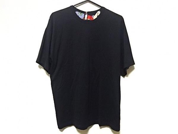 ヌメロ ヴェントゥーノ ワンピース サイズ40 M レディース 黒×レッド×マルチ 花柄