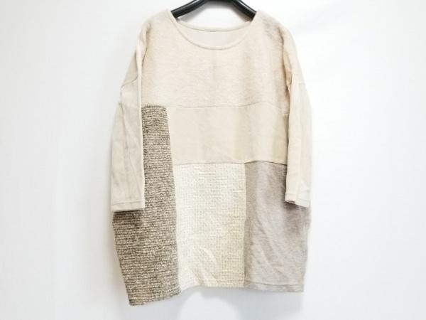 ダイアグラム 長袖セーター サイズ36 S レディース アイボリー
